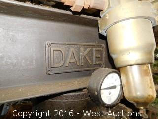 Dake Hydraulic Press