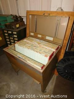 Vintage File Chest for Drawings