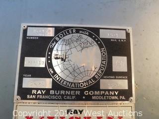 Ray Burner Company Boiler Tank