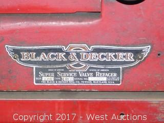 Black and Decker Super Service Valve Refacer