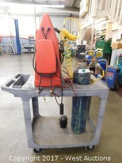 Evap Trace UV Leak Master Leak Detection System
