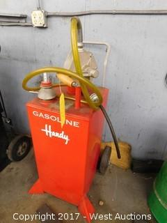 Hardy 30 Gallon Gas Caddy Potable Transfer Tank