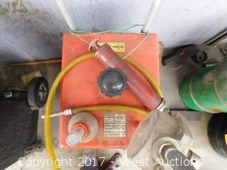 Hardy 30 Gallon Gas Caddy Potable Transfer Tank