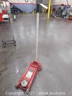 MAC Tools 2.5 Ton Hydraulic One Pump to Load Service Jack