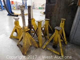 (8) 6 Ton Jack Stands