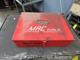 Tool Boxes with Mechanics Tools