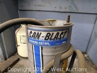 San-Blast Model 50 Sandblaster