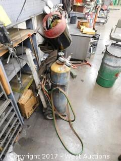 Oxy/Acetylene Cutting Torch Set with Cart