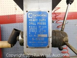 Continental Heavy Duty Drill Press