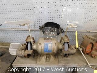 American Machine Tool Grinder with Vacuum