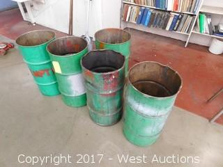 (5) Waste Bins (empty)