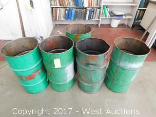 (5) Waste Bins (empty)