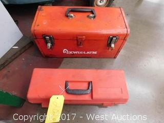 (2) Tool Boxes with Mechanics Tools