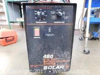 Solar No. 480 6/12 Volt Battery Charger Starter