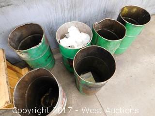 (6) Waste Barrels