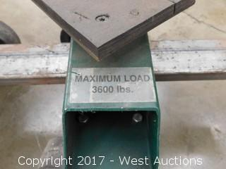 (2) Uni-Dolly Maximum Load 3600 lbs