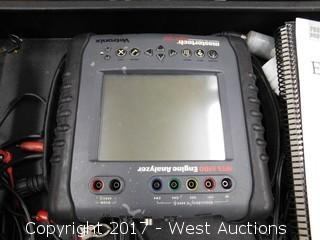 Mastertech MTS 5100 Engine Analyzer on Cart