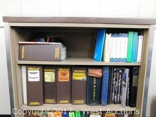 Book Case with Manuals