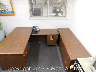 (3) Piece Desk Set
