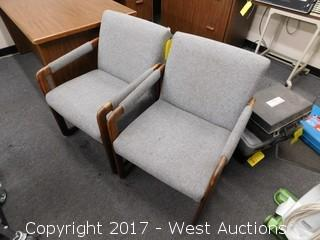 (2) Visitors Chairs