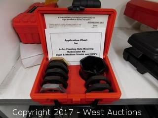 Kaster Hand Tools 8-PC Floating Axle Housing Rethreader KitLight and Medium Trucks and SUV's