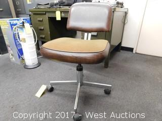 Brown Swivel Chair