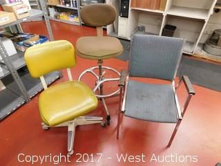 (3) Chairs