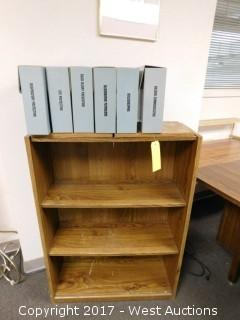 Wood Book Shelf with Safety Training