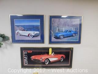 Framed Car Art