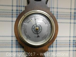 Wood Barometer Thermometer Hygrometer