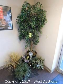(5) Faux Plants