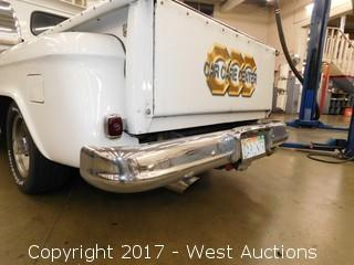 1964 Chevrolet Stepside Shortbed Truck with Modifications