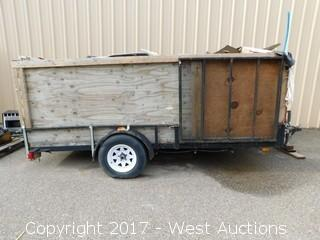 2009 Pace Utility Trailer with Contents