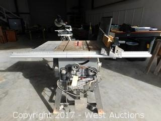 """2012 Porter Cable 10"""" Table Saw with Fence Extensions"""
