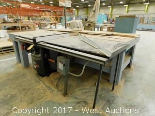 """SawStop 10"""" Industrial Cabinet Saw with 7' Table"""
