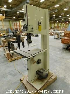 """JET 18"""" Woodworking Bandsaw"""