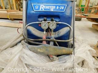 Graco Reactor A-20 Plural Component Proportioner with Valves and Hoses