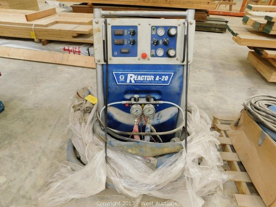 Auction #1 Complete Warehouse Liquidation of Modular Building Manufacturer