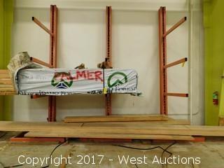 (3) Metal Cantilever Racks (racks only)