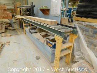 Wilson High Speed Cutting Machine with 20' Rolling Tables