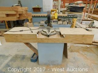 """DeWalt DW713 10"""" Compound Mitre Saw with Table"""
