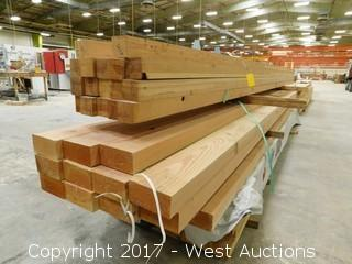 Lot of 40+ Lumber
