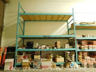 (2) Sections Pallet Rack