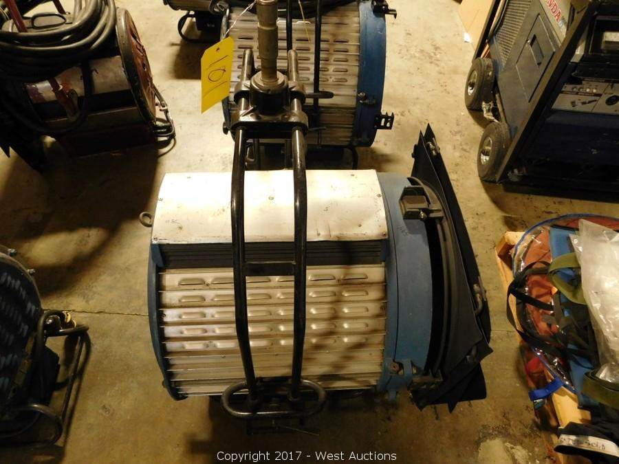 Surplus Auction of Grip, Lighting and Audio Gear with Box Trucks
