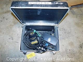 Case with (2) Kino Flo Car Kit Light