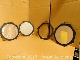 """(4) 6-5/8"""" Spotlight Gels"""