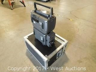 Sony DRW-1/SRPC-1 with Road Case