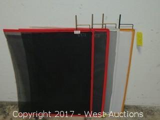 """(4) 36""""x30"""" Flags Welded Steel Rod"""