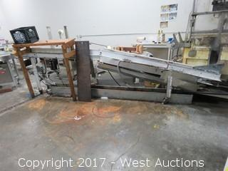EMI 14' Flat Belt Conveyor