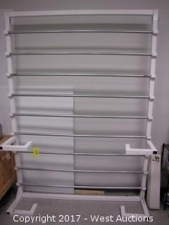 "9-Bar Rack - Up to 65"" Rolls"